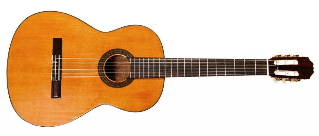 Exemple de guitare classique