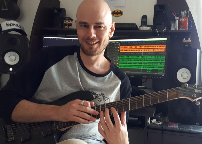 Clément LONGUET, prof de guitare diplômé